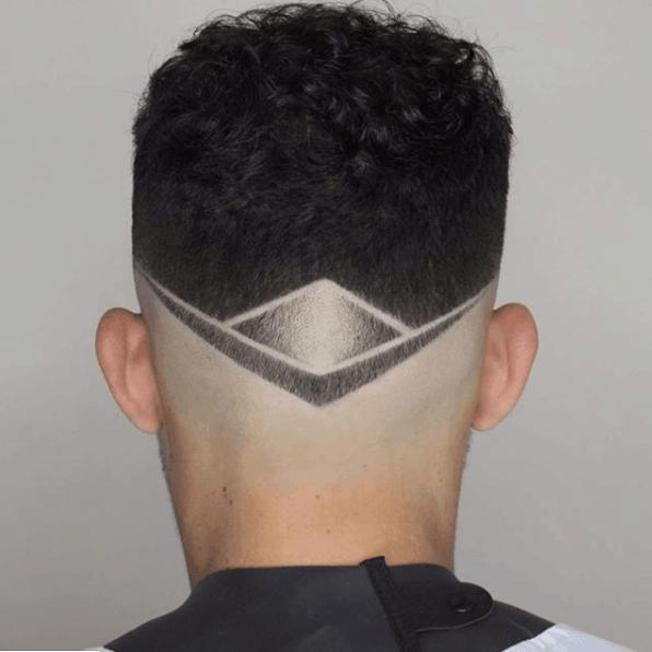 Desenho no cabelo 2021