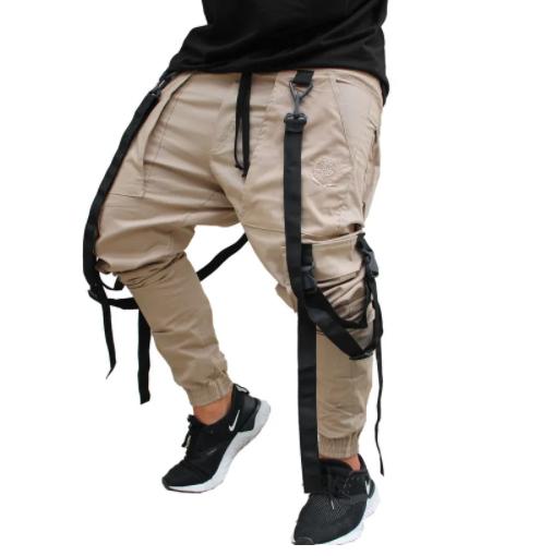 Calça Cargo Skate com Suspensório